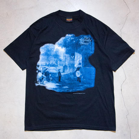 "NOS '94 Moody Blues ""Long Distance Voyager"" S/S T-shirts ムーディ・ブルース アバッキオ"