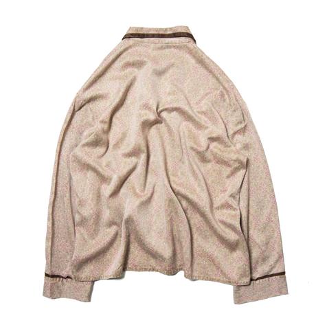 Forman / Paisley Patterned EU Satin Pajama Shirts