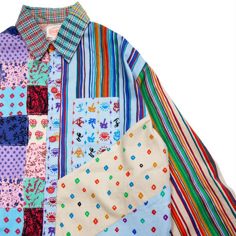 80's JAMS WORLD / Patchwork Shirts