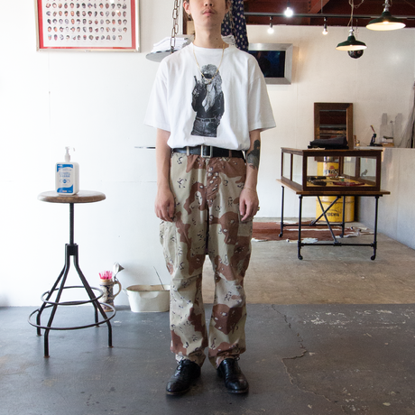'90 US ARMY / Desert Camouflage BDU Trousers S-R チョコチップカモ