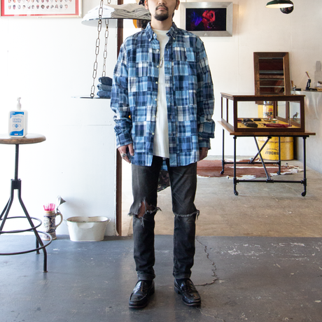 Ralph Lauren / Patchwork BD Shirts
