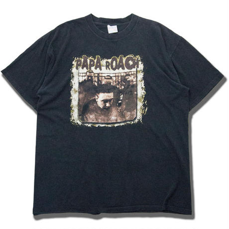 2000's Vintage PAPA ROACH S/S T-shirts パパローチ