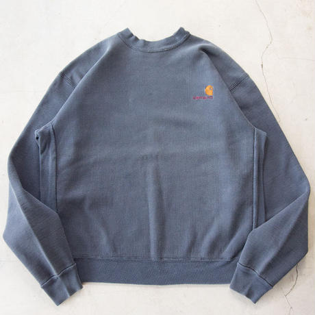 90's Carhartt Logo Embroidered Plain L/S Sweatshirts カーハート
