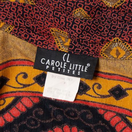 Carole Little Rayon Cardigan