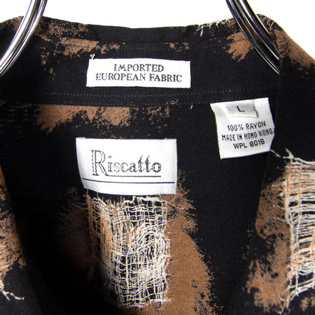 RISCATTO / Rayon Shirts