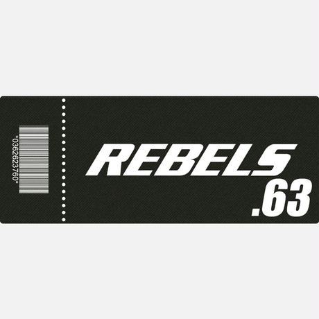 【TICKET】REBELS.63 S席 2019.10.6 後楽園ホール