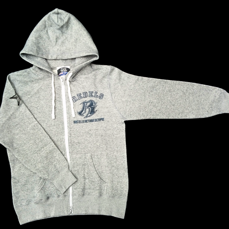 【APPAREL】REBELS ZIPパーカー