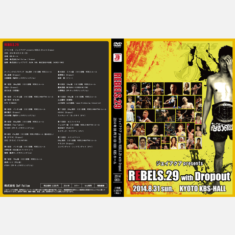 【DVD】REBELS.29 2014.08.31 KBSホール
