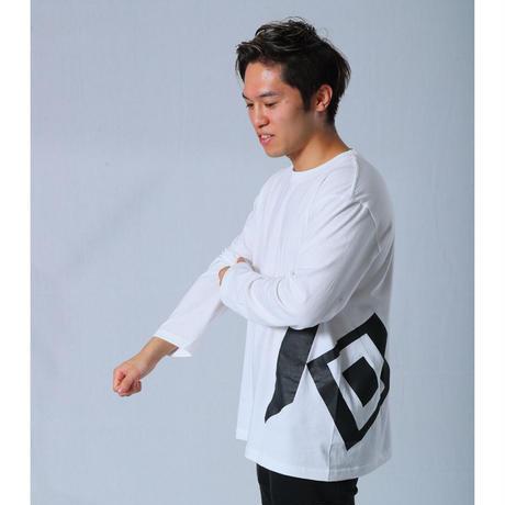 KOビッグロゴ・ロングスリーブTシャツ WHITE