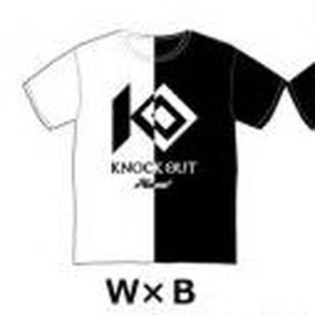 HAOMING × KO オフィシャルTシャツ W × B