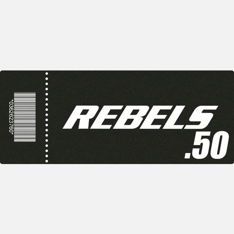 【TICKET】REBELS.50 B席 2017.4.16 ディファ有明