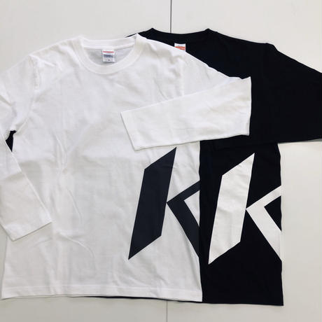 KOビッグロゴ・ロングスリーブTシャツ BLACK