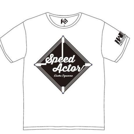 小笠原瑛作 × KO 「SPEED ACTOR」 Tシャツ