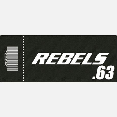【TICKET】REBELS.63 SRS席 2019.10.6 後楽園ホール
