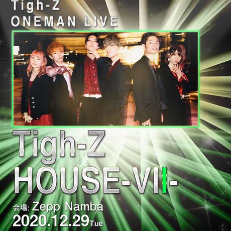 Tigh-Z 12/29 Zepp Namba チケット