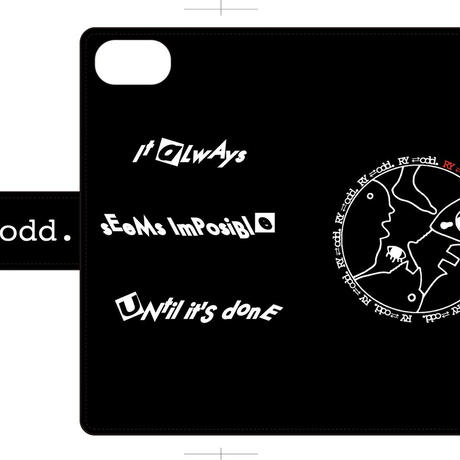 RYOプロデュース!! RY⇄odd.   [リ・オッズ]手帳型iPhoneケース