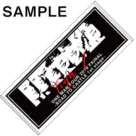 Tigh-Z ONE MAN TOUR 2019 Zepp Nambaタオル 通販限定推しメンクリスマスカード付き