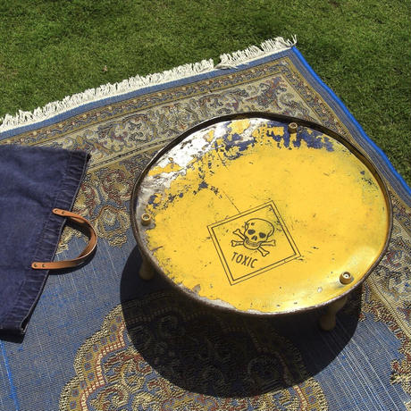 Drum Moroccan Table