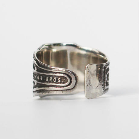 """Cigar label"" Silver ring / La Venga"