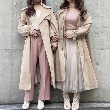 プリーツチュールスカート【191-4050】