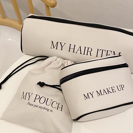 【豪華Novelty】My pouch 3点セット【211-9038】※税込¥18,000以上(送料別)お買い上げでプレゼント.ご希望の方はカートにお入れ下さい