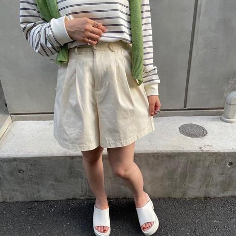 ハイウエストショートパンツ【211-5009】