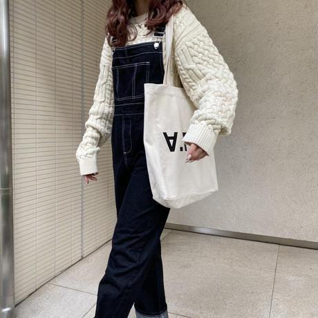 デニムステッチサロペット【211-6025】