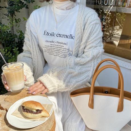 Étoile T-shirt(ivory)【211-2005】