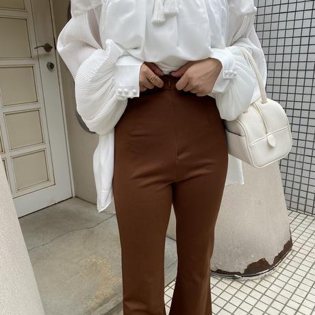 ブラウンストレッチパンツ【201-5010】