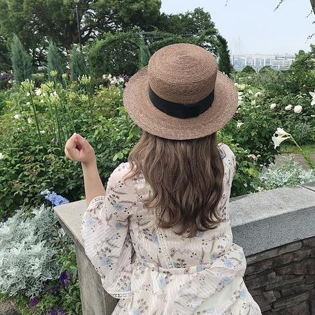 花柄ティアードリゾートワンピ