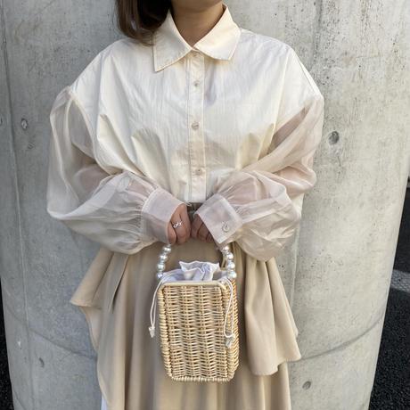 シアースリーブシャツ【211-1033】