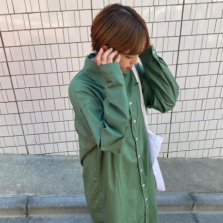 ロングシャツワンピース【212-6005】