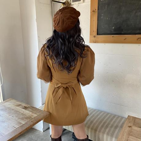 ヴィンテージテーラードジャケットワンピ【192-8004】