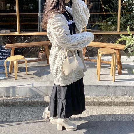 ボリュームティアードスカート【211-4004】