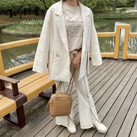 Étoile T-shirt(beige)【211-2005】