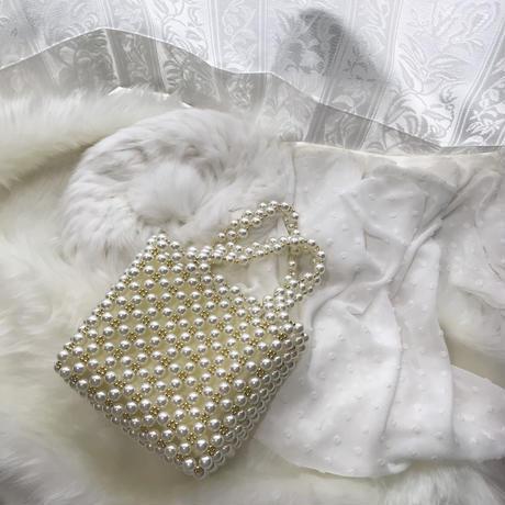 パールハンドバッグ