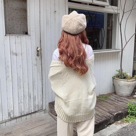 かぎ編みニットカーディガン【202-3012】