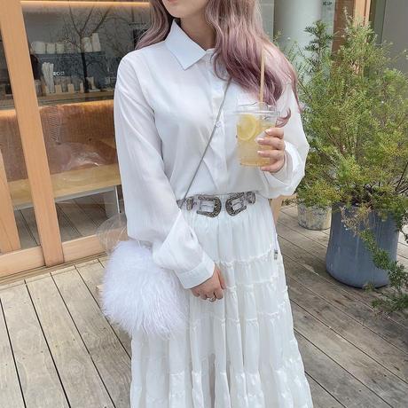 ホワイトクラシックシャツ【201-1060】