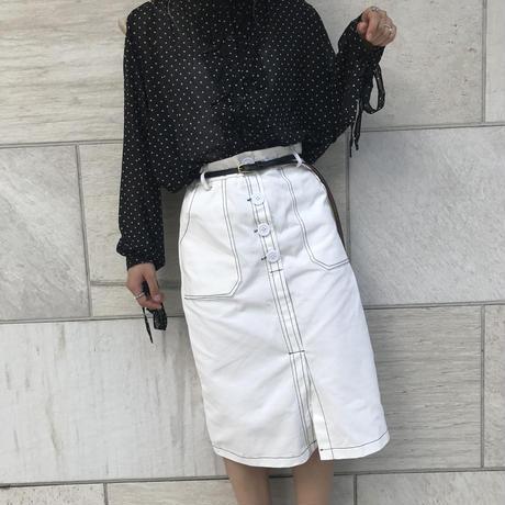 デニムライクタイトスカート