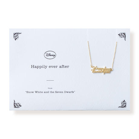 <Disney> Happily ever after | ネックレス | DN-007