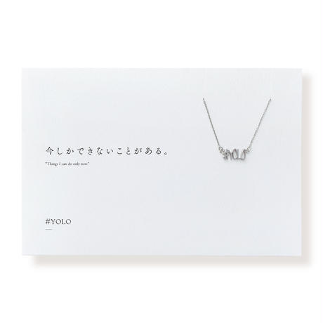 #YOLO  | ネックレス | D-017