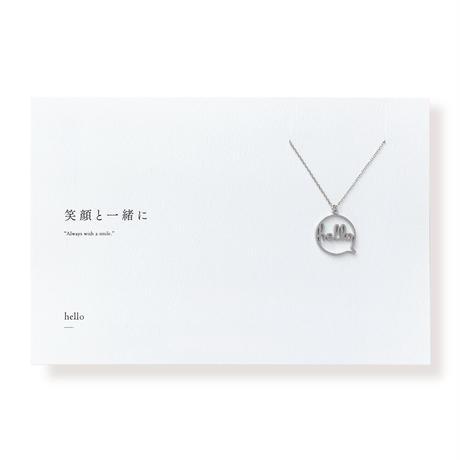 hello(フキダシ) | ネックレス | L-024