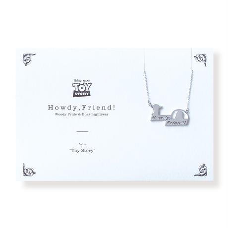 <Disney> Howdy, Friend!   ネックレス   DN-044