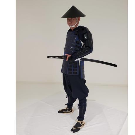 【L4-9】黒畳鎧・足軽 (レンタル)
