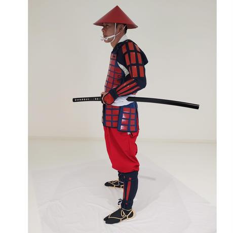 【L4-9-1】赤畳鎧・足軽 (レンタル)
