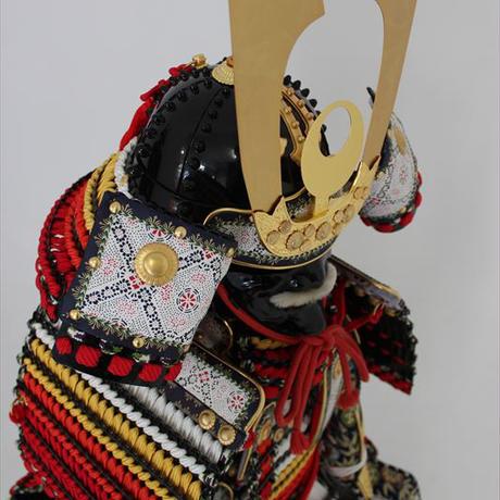 【C-019】赤糸裾濃威 (子供鎧)