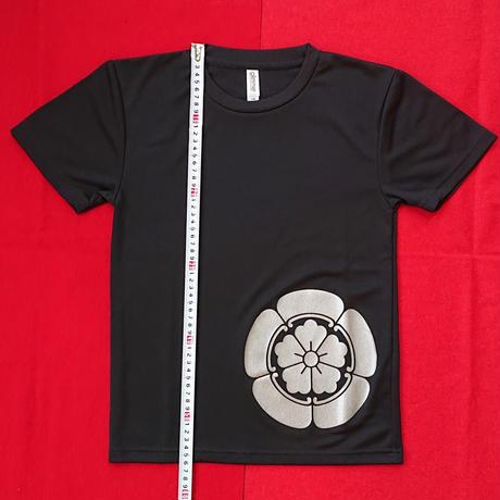 子供家紋Tシャツ      織田信長      (140cm)