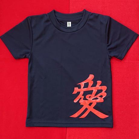 子供家紋Tシャツ       直江兼続       (120cm)