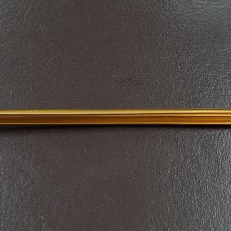 アルミ製金消鍍金 覆輪(3㎜幅3m)