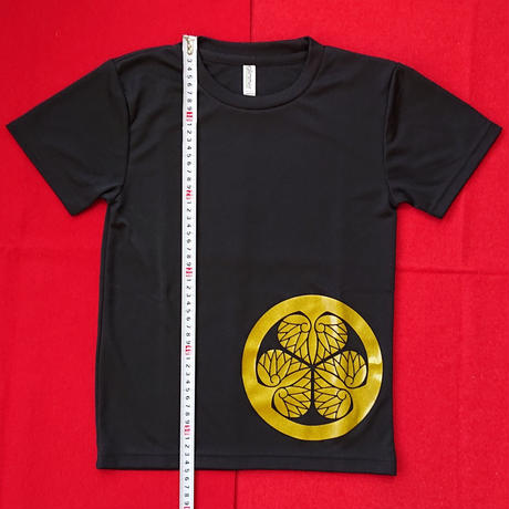 子供家紋Tシャツ      徳川家康       (140cm)